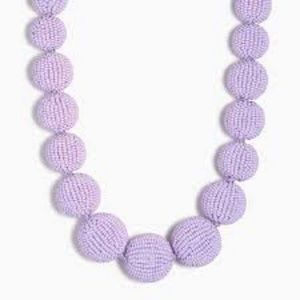 J.crew Beaded Orb Statement Necklace